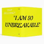 """Wolfpack """"Unbreakable"""" Binders"""