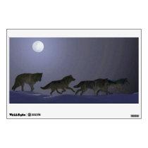 Wolfpack Wall Sticker