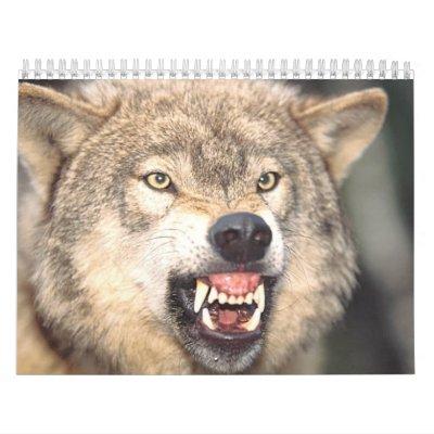 Wolfs Calendario De Pared