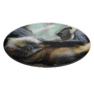 Wolf's Guenon Monkey Cutting Board