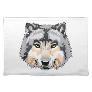 WOLFS HEAD CLOTH PLACEMAT
