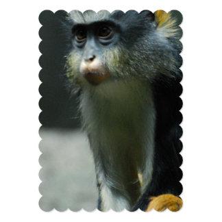 Wolf's Monkey 5x7 Paper Invitation Card