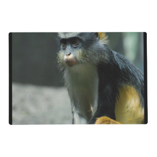 Wolf's Monkey Laminated Placemat