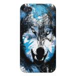 Wolfs resplandor iPhone 4 cárcasas