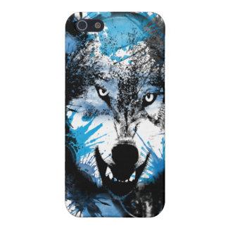Wolfs resplandor iPhone 5 carcasas