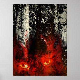 Wolfsbane Woods Print