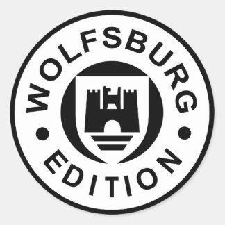 Wolfsburg Edition (black) Classic Round Sticker