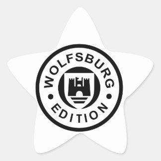 Wolfsburg Edition (black) Star Sticker