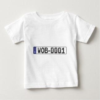 Wolfsburg License Plate Baby T-Shirt