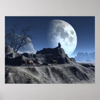 Wolfy Print