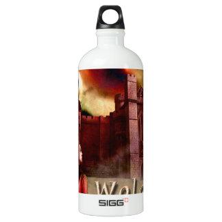 Wolgast Castle Aluminum Water Bottle