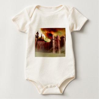 Wolgast Castle Baby Bodysuit