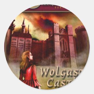 Wolgast Castle Classic Round Sticker
