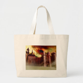 Wolgast Castle Large Tote Bag