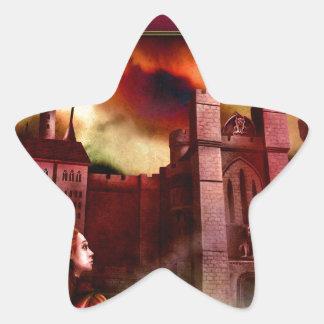 Wolgast Castle Star Sticker