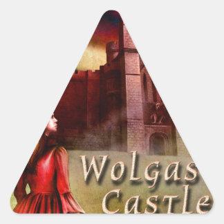 Wolgast Castle Triangle Sticker