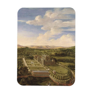 Wollaton Hall and Park, Nottingham, 1697 (oil on c Vinyl Magnet