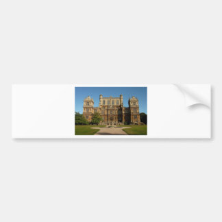 Wollaton hall bumper sticker