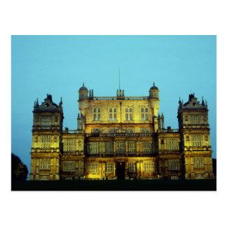 Wollaton Hall, Nottingham, England, U.K. Postcard