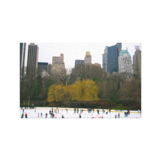 Wollman Rink Central Park New York City NYC Photo Canvas Print