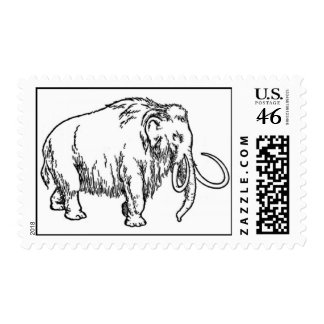 Wolly Mammoth Postage
