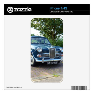Wolseley 1500 skin for the iPhone 4