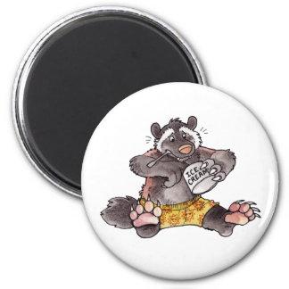 Wolverine 2 Inch Round Magnet
