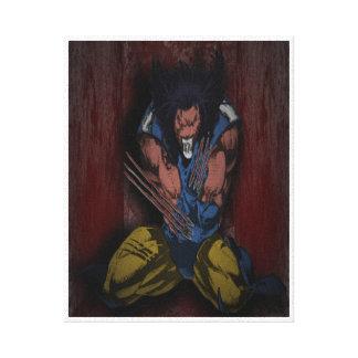 Wolverine Fanart Impresion En Lona