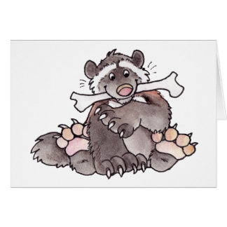 Wolverine feliz tarjeta de felicitación
