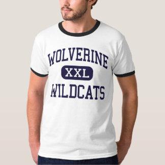 Wolverine - gatos monteses - centro - Wolverine Playeras