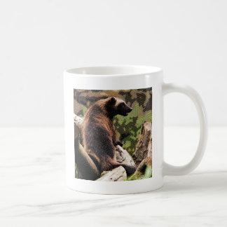 Wolverine grabado taza de café