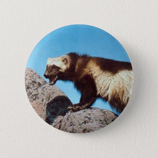 wolverine pin!! pinback button