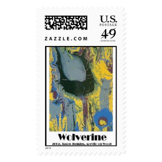wolverine postage stamps
