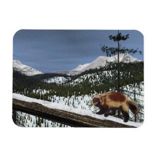 Wolverine Rectangular Photo Magnet