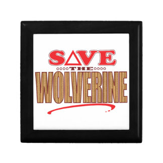 Wolverine Save Keepsake Box