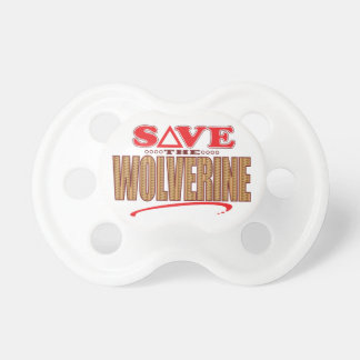 Wolverine Save Pacifier