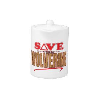 Wolverine Save Teapot