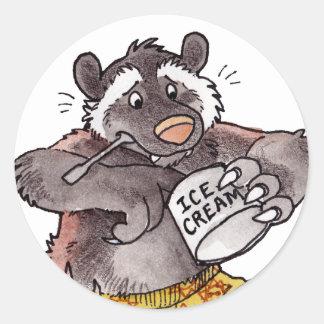 Wolverine Round Sticker