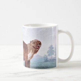 Wolverine vintage art coffee mug