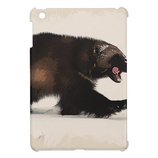 Wolverine walking iPad mini cases