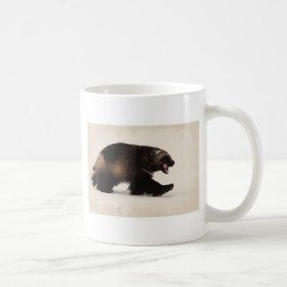 Wolverine walking classic white coffee mug