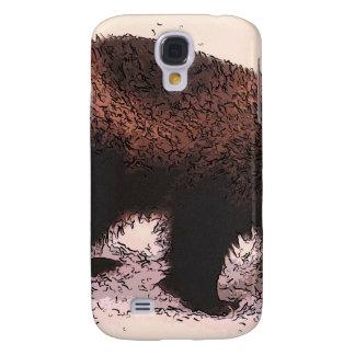Wolverine Walks on snowy slope.jpg Samsung Galaxy S4 Case