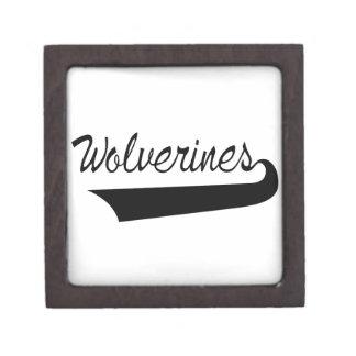 Wolverines Keepsake Box