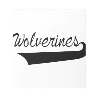 Wolverines Notepad