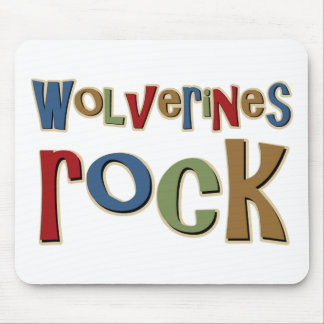 Wolverines Rock Mouse Pad