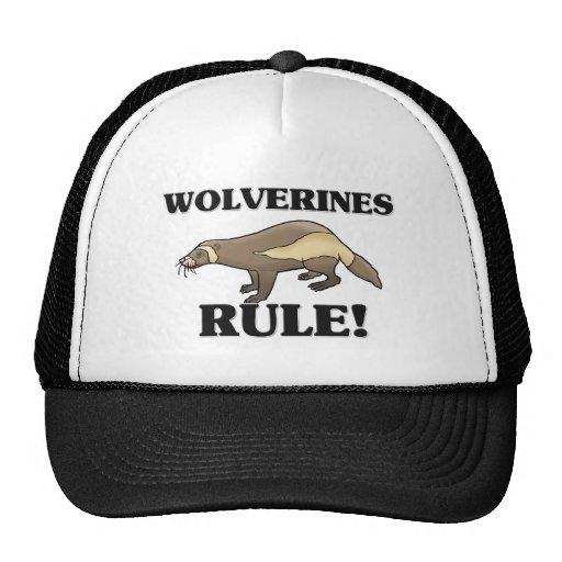 WOLVERINES Rule! Trucker Hat
