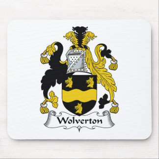 Wolverton Family Crest Mouse Pad