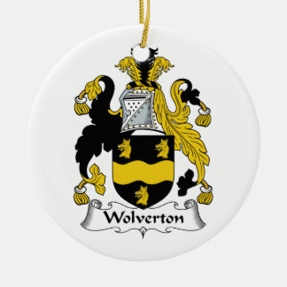 Wolverton Family Crest Ornament
