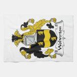 Wolverton Family Crest Towel