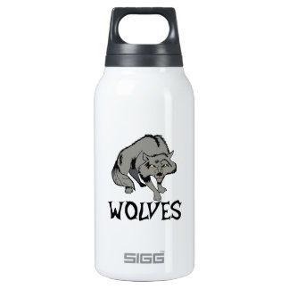 Wolves 10 Oz Insulated SIGG Thermos Water Bottle